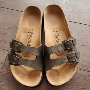 Betula by BIRKENSTOCK Slide Sandals EUC